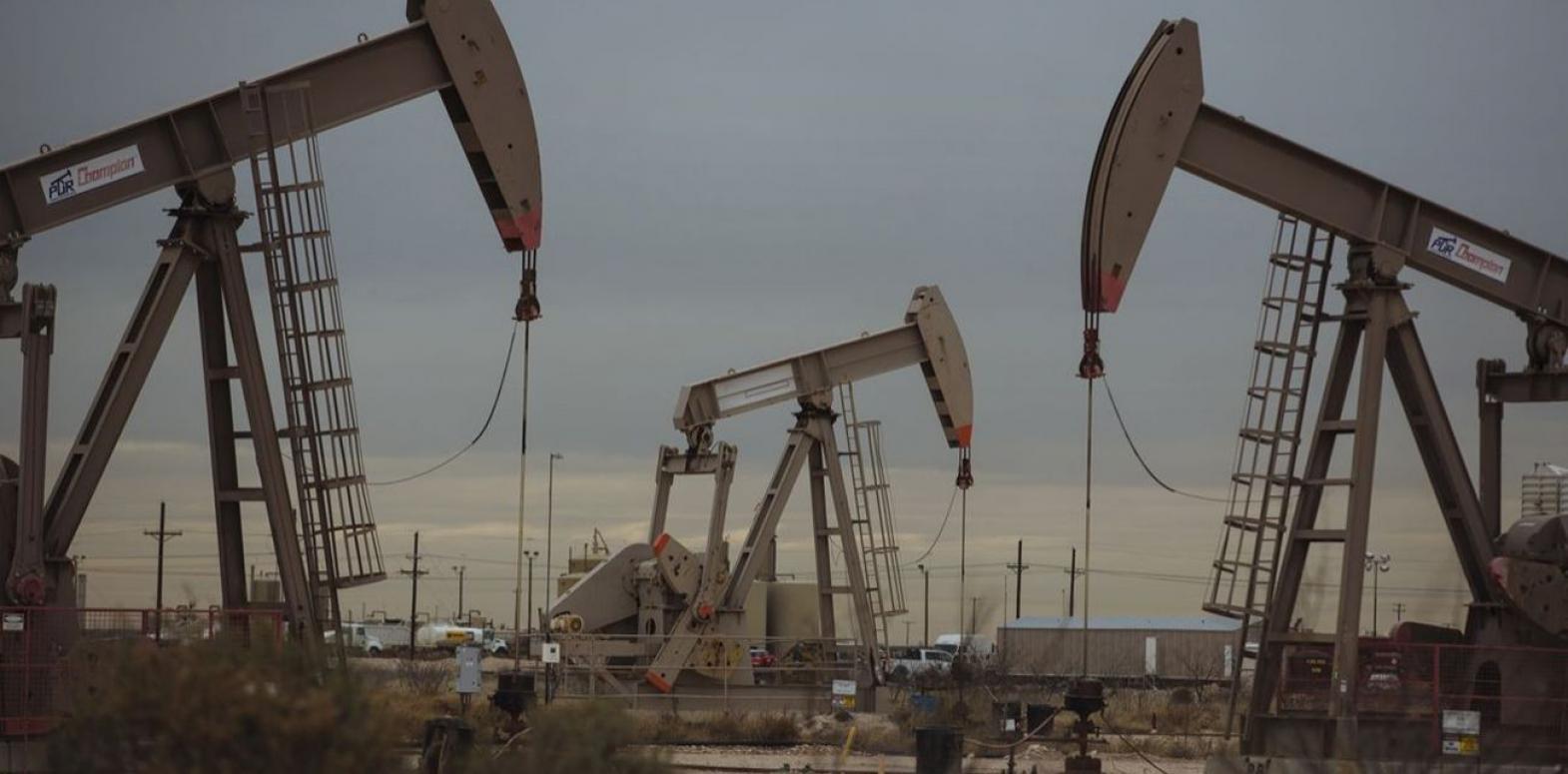 Цены на нефть падают после четырех недель роста